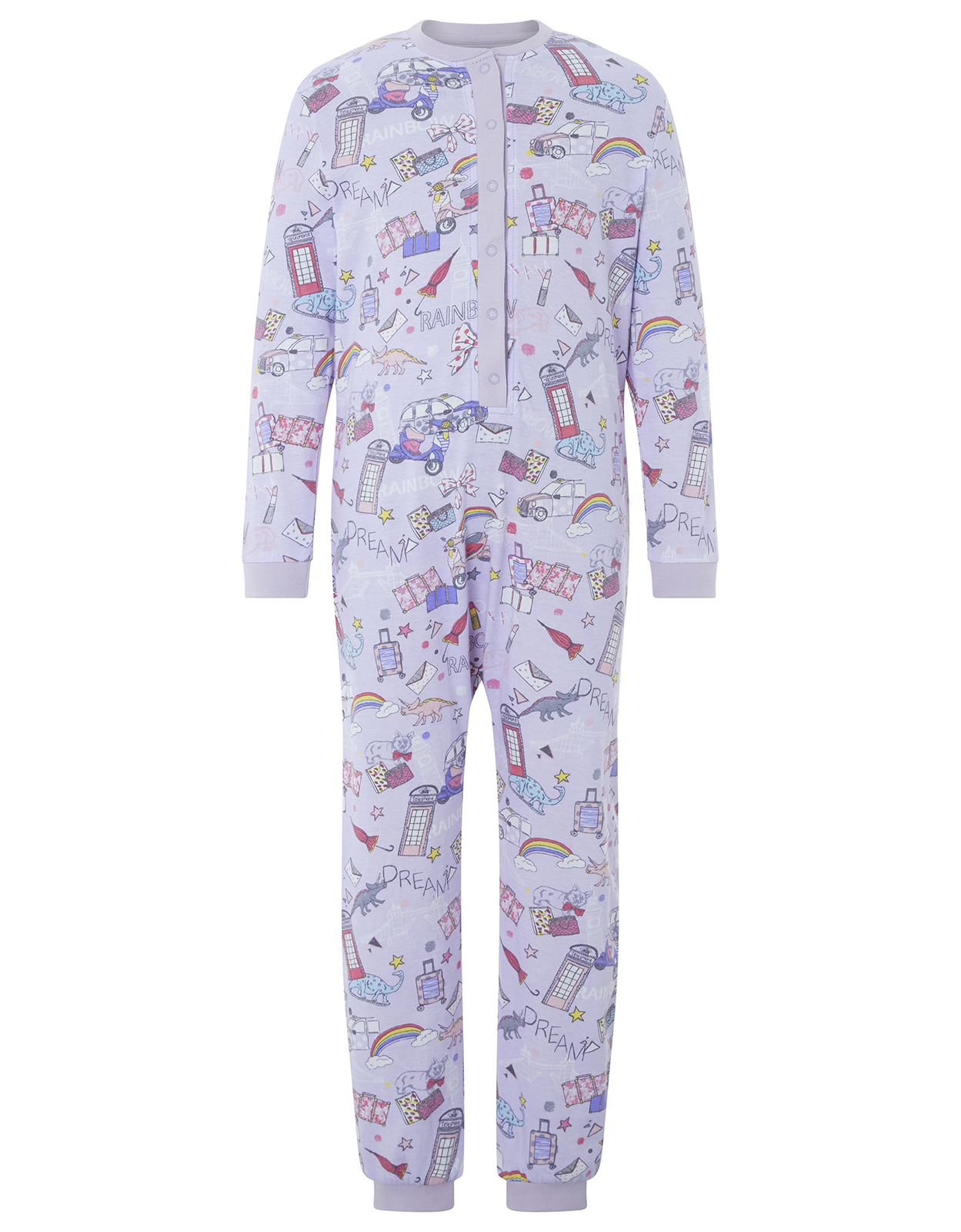 Monsoon Cara Jersey Sleepsuit