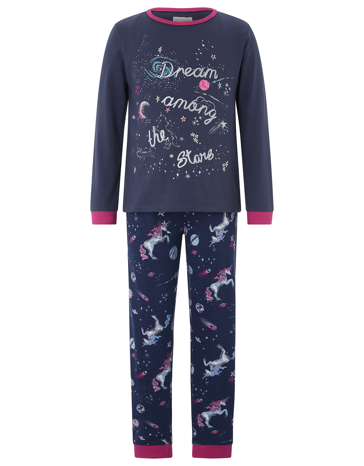 Monsoon Dream Among The Stars Glow in the Dark Pyjama Set