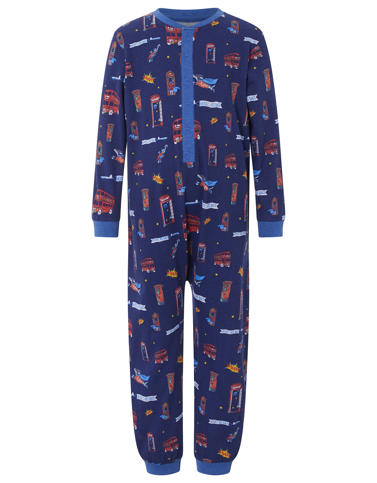 Monsoon Larry London Sleepsuit