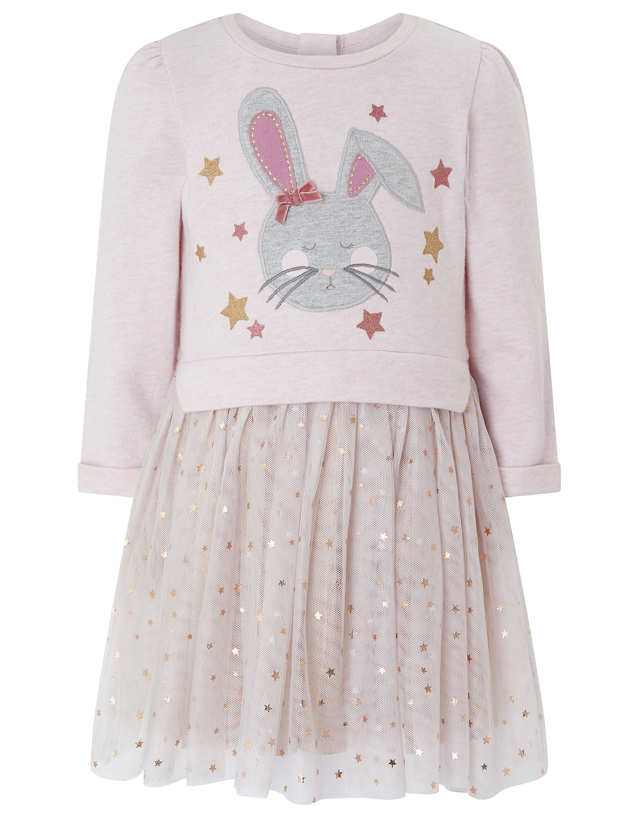 Monsoon Baby Bessie Bunny Disco Dress