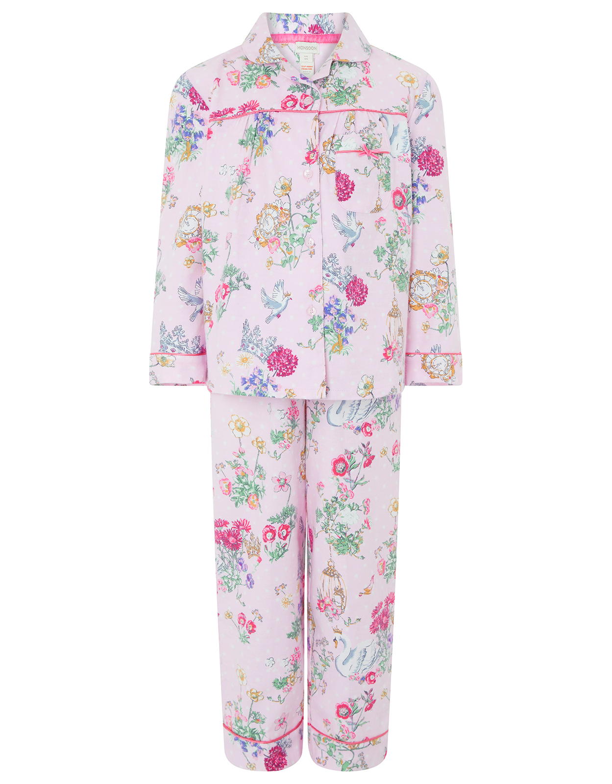 Monsoon Avery Flannel PJ Set