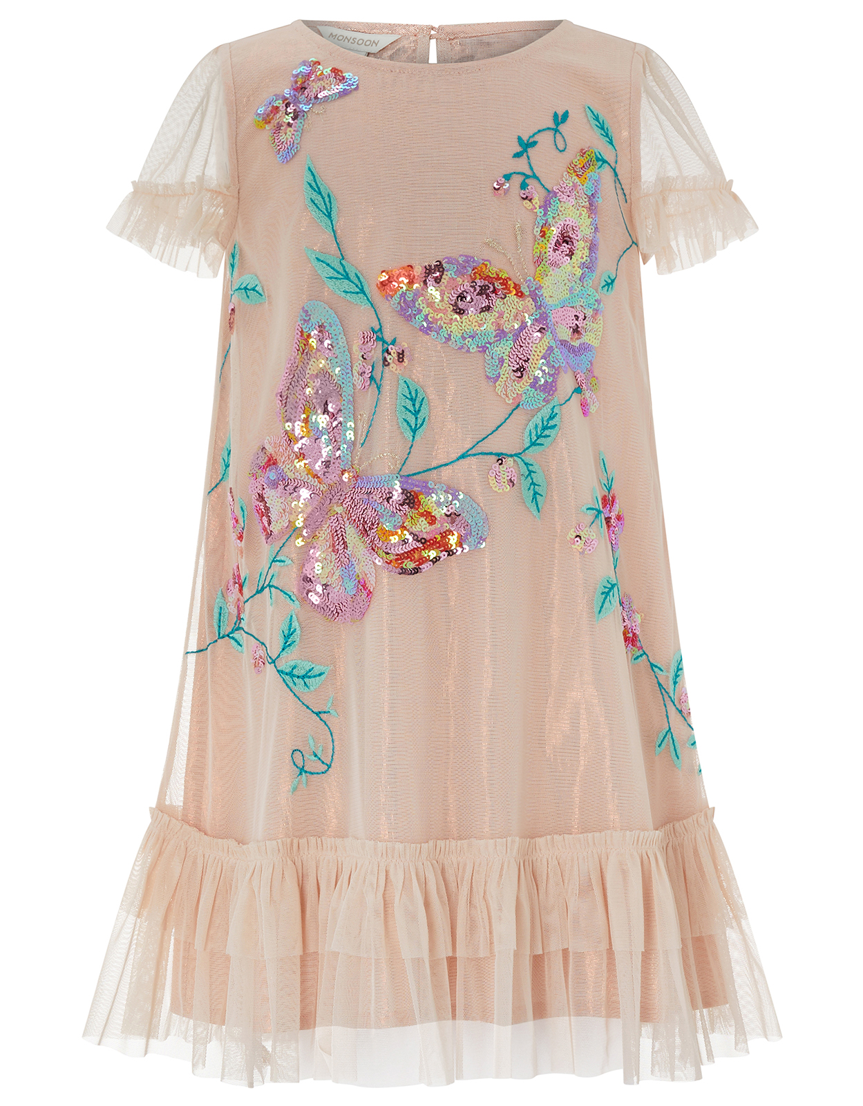Monsoon Pearl Butterfly Disco Dress