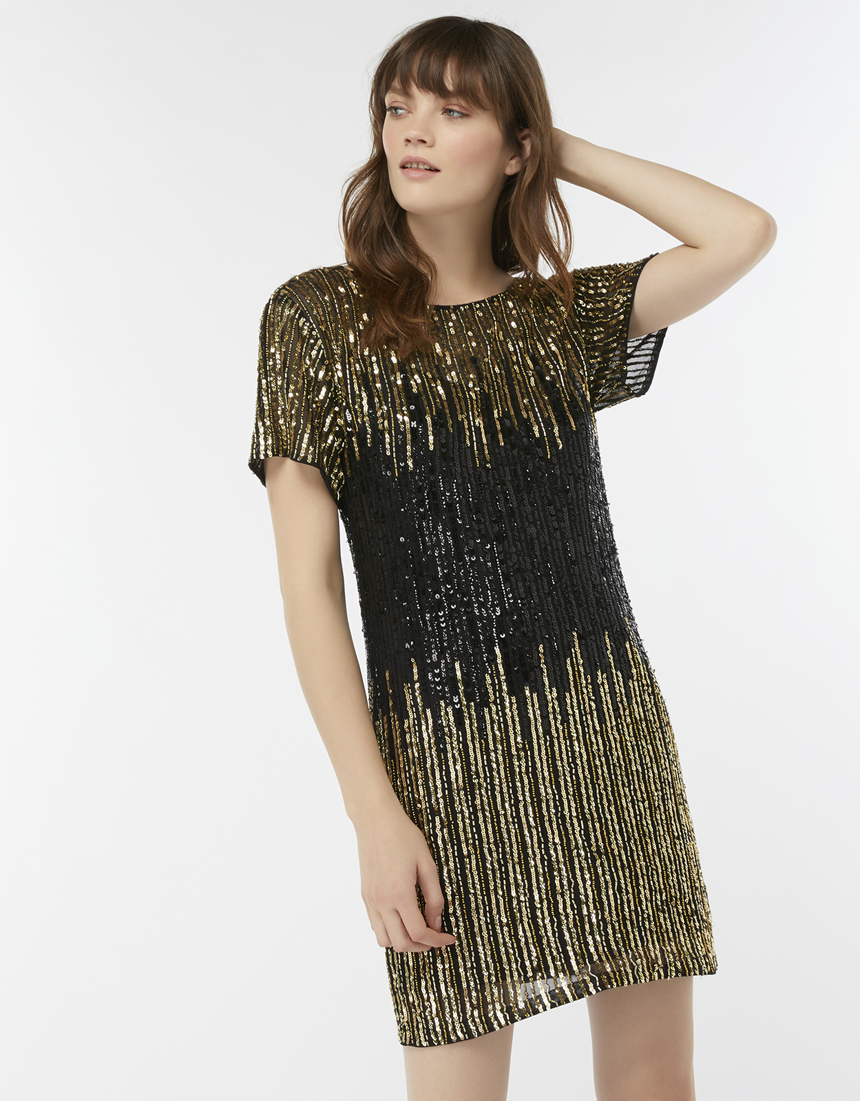 Monsoon Jana Embellished Tunic Dress