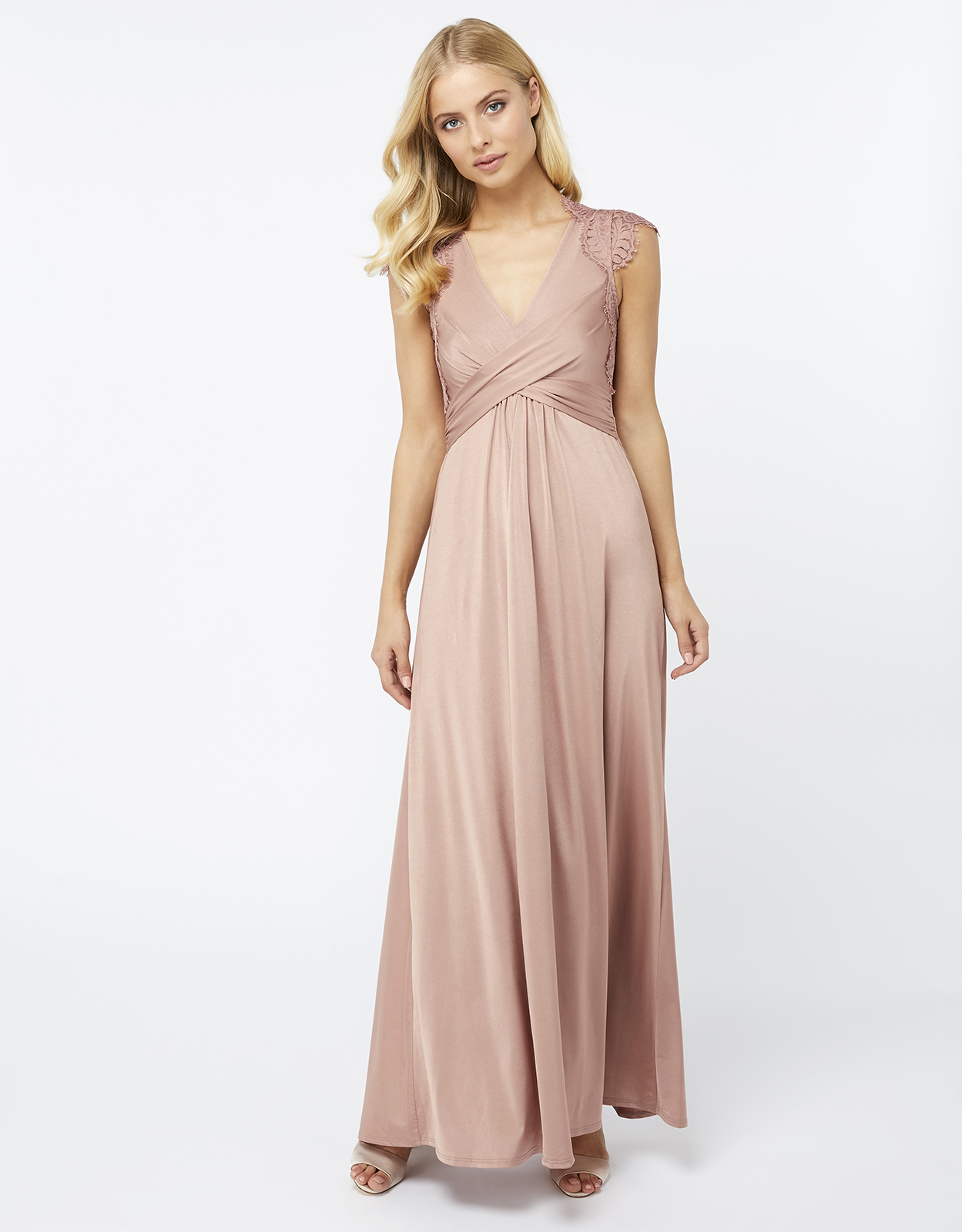 Monsoon Gwendoline Lace Maxi Dress