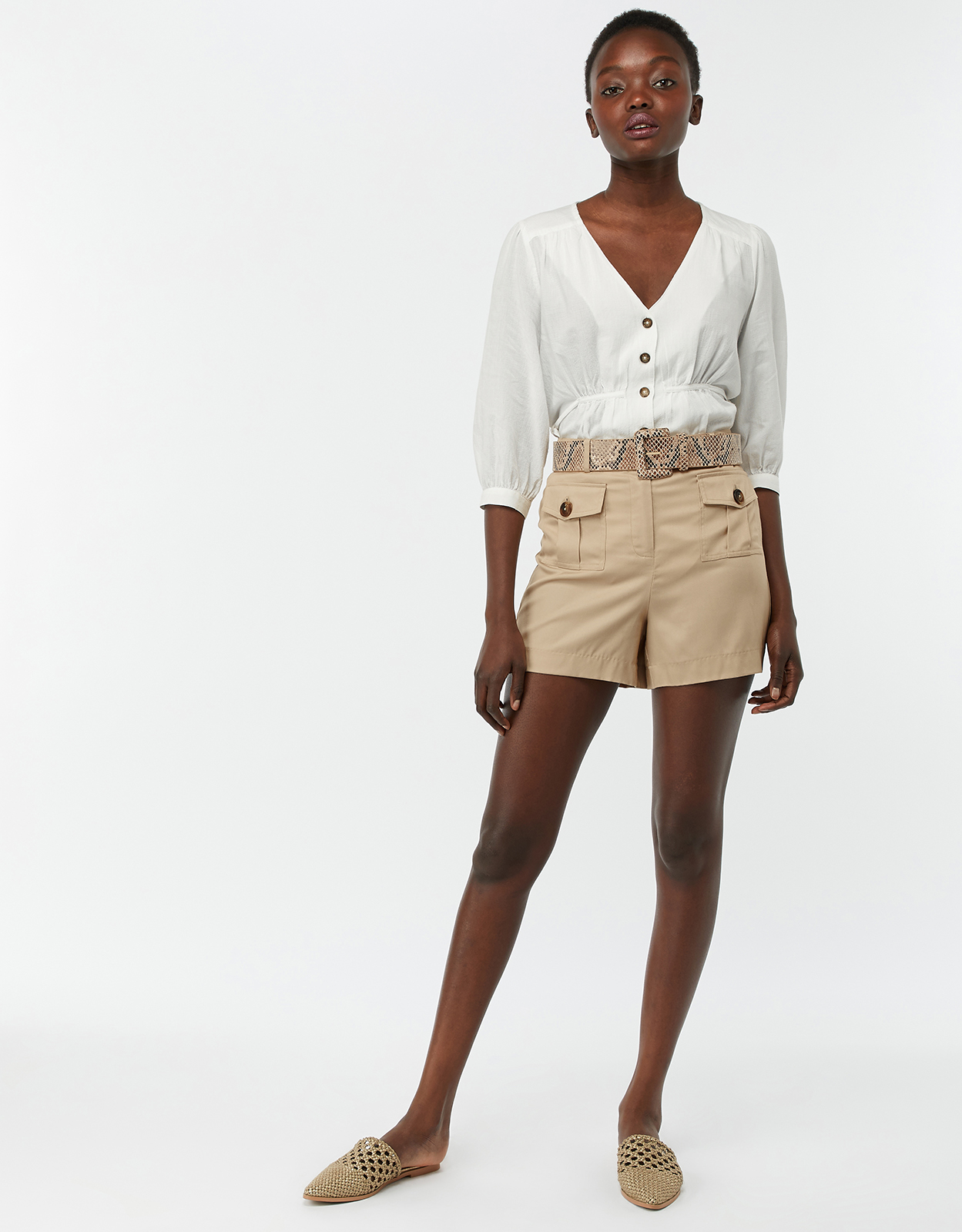 Monsoon Lacy Pocket Front Shorts
